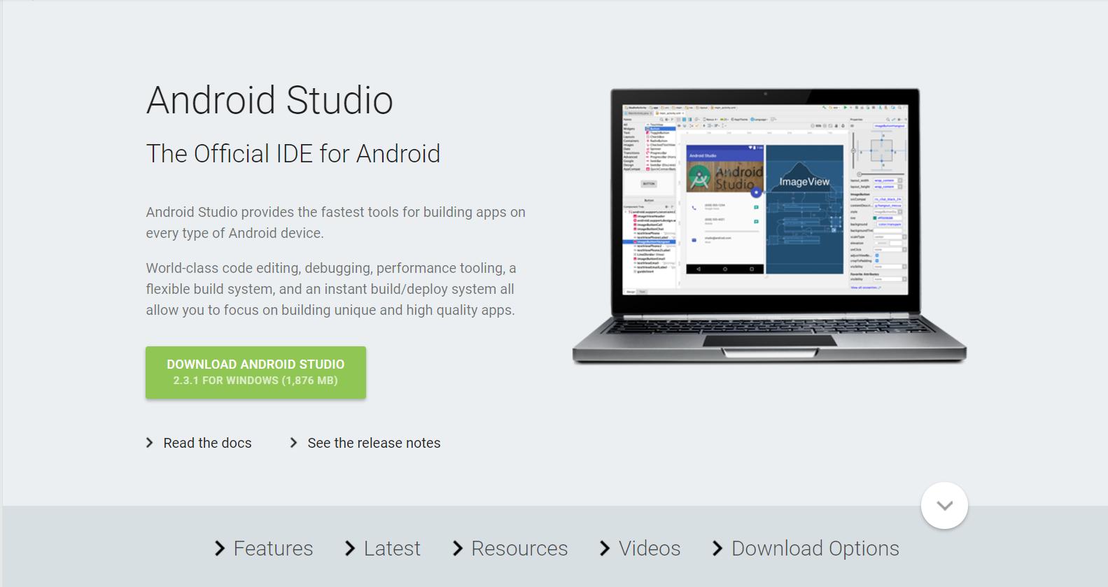 Android Studio - установка и настройка СДК